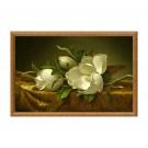 Tablou TI01876, inramat, panza canvas + rama MDF, stil floral, 50 x 80 cm