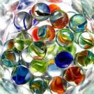 Tablou sticla acrilica 40 x 40 cm bile cristal dtp6834