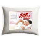 Perna pentru dormit Bliss fibra poliester siliconizata + bumbac 70 x 70 cm
