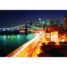 Fototapet duplex Night light city 8-019 368 x 254 cm