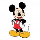 Decoratiune spuma Mickey 33x21 cm SRMK0116