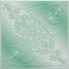 Tavan fals decorativ din polistiren C3005 clasic verde 50 x 50 x 0.3 cm