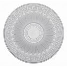 Rozeta din polistiren C303 baroc alb 38 x 2 cm