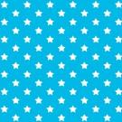 Autocolant decorativ Gekkofix Stars 13418, alb + albastru, 0.45 x 15 m