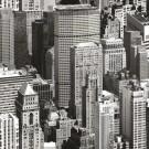 Autocolant decorativ Gekkofix Urban sky 11912, gri + negru, 0.675 x 15 m