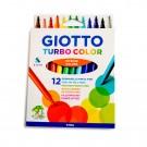 Carioci Giotto Turbo, set 12 culori