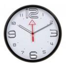 Ceas perete P1202B3.WE, analog, rotund, din plastic, diametru 31.5 cm