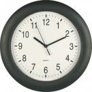 Ceas perete DL106.B, analog, rotund, din plastic, diametru 28 cm