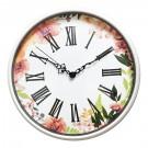 Ceas perete P1203C8.RM, analog, rotund, din plastic, diametru 32 cm