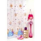 Perdea Disney Princess 280cm alb