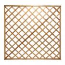 Gard lemn 2848, pentru gradina, 180 x 180 cm