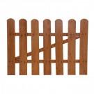 Poarta gardut, lemn, pentru gradina, 85 x 85 cm