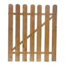 Poarta gardut, lemn, 100 x 85 cm