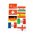 Magnet cu steag tari Euro 2016