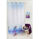 Decor Frozen 280 cm alb