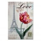 Tablou canvas TA16-PAB007030, stil floral, 50 x 40 cm