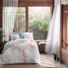Lenjerie de pat, 2 persoane, Benicia, bumbac 100%, 4 piese, multicolor