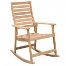 Scaun pentru gradina, balansoar, TD 4006R, lemn, natur