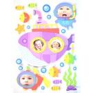Sticker decor D402 82x50 cm
