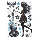 Sticker decor D393 62x37 cm
