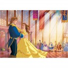 Fototapet copii duplex Disney Beauty and the Beast 2410P4 254 x 184 cm