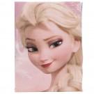Lenjerie de pat copii Frozen Pink bumbac 140 x 200 cm