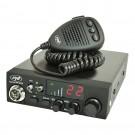 Statie radio CB PNI Escort HP 8024, alimentare duala 12 V - 24 V, ASQ reglabil, 115 x 36 x 152 mm