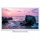 Televizor LED Toshiba 24W1754DG, diagonala 61 cm, HD Ready, alb