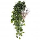Floare artificiala, CFS - 2AL, verde, 100 cm