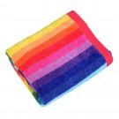 Prosop plaja Rainbow, 100 % bumbac egiptean, 90 x 160 cm