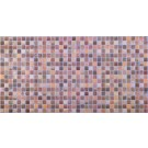 Panou decorativ Mosaic Brown Antiquity, PVC, multicolor, 94.4 x 48.8 cm, 0.4 mm