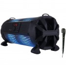 Boxa portabila activa Akai ABTS-626, 30 W, Bluetooth, USB, 2 x port jack 6.3 mm, radio FM, functie karaoke, negru, microfon