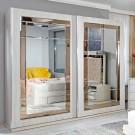 Dulap dormitor Opera L250/H230, ulm deschis, 2 usi, cu oglinda, 250.5 x 62 x 230 cm, 9C