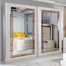 Dulap dormitor Opera L278/H230, ulm deschis, 2 usi, cu oglinda, 278.5 x 62 x 230 cm, 9C