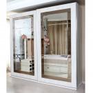 Dulap dormitor Opera L250/H230, crem, 2 usi, cu oglinda, 250.5 x 62 x 230 cm, 9C