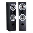 Sistem audio Akai SS048A-616, 2 boxe active, 80 W, Bluetooth, USB, radio FM, negru, telecomanda