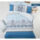 Lenjerie de pat, Ocean, 2 persoane, bumbac 100%, 200 x 220 cm, 4 piese