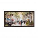 Tablou 03456, inramat, pe panza, stil clasic, Plimbare, 50 x 100 cm