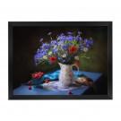 Tablou 03174, inramat, pe panza, stil clasic, Flori de camp I,  50 x 70 cm