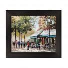 Tablou 03463, inramat, stil clasic, Plimbare in Paris II, 40 x 50 cm