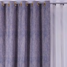 Draperie Sand 758, 100 % poliester, indigo, V35, H 280 cm