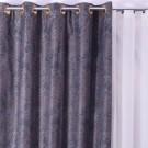 Draperie Metallic Waves 763, 100 % poliester, wenge, V36, H 280 cm