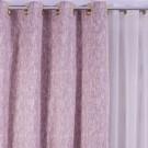 Draperie Rain 760, 100 % poliester, roz pudra, V13, H 280 cm