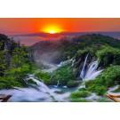 Fototapet duplex Waterfall 13055P4 254 x 184 cm