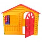 Casuta copii, din plastic, interior / exterior, 130 x 109 x 115 cm
