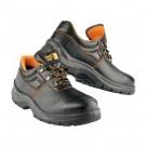 Pantofi de protectie Panda ERG Beta cu bombeu metalic,  negru, S1, marimea 44