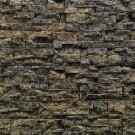 Piatra decorativa, interior / exterior, Balcan 03, maro cu segmente crem (cutie = 0.55 mp)