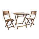 Set masa patrata si 2 scaune NP11325