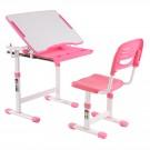 Birou si scaun roz C3 pentru copii
