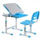 Birou si scaun albastru C4 pentru copii